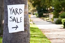 Yard Sale at Schwiegers